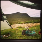 Camp in the Cuillins